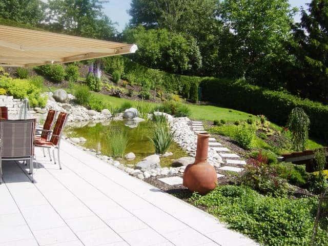 Gartenteich bei Landshut Bio