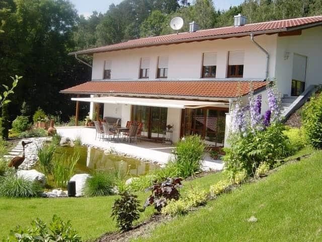 Gartenteich bei Landshut Biotop