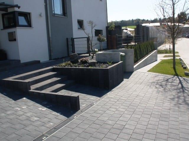 Beliebt Ihren Hauseingang gestalten wir - Ludwig Abfalter Landschaftsbau WL61