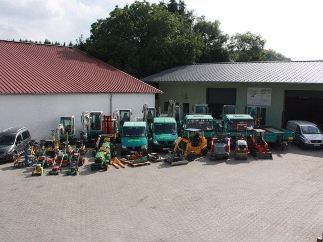 Maschinen Gartengestaltung bei Landshut