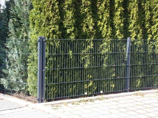 Metallzaun Gartenzaun bei Landshut