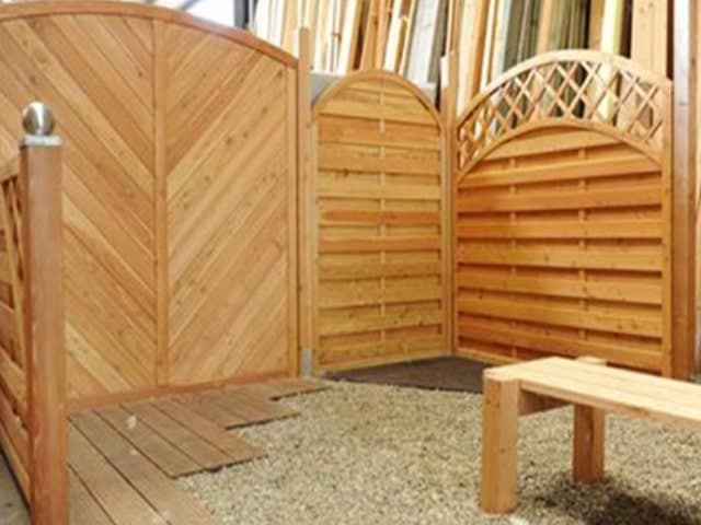 Sichtschutz Garten Holz Abfalter