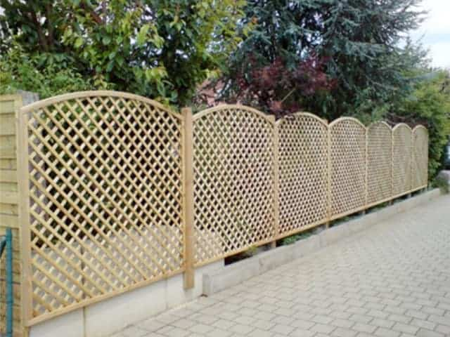 Sichtschutz Garten Holz bei Landshut