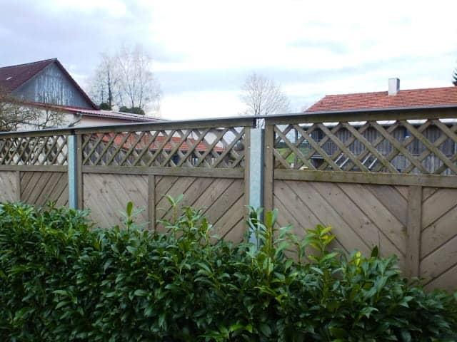Gartenbau Sichtschutzwand