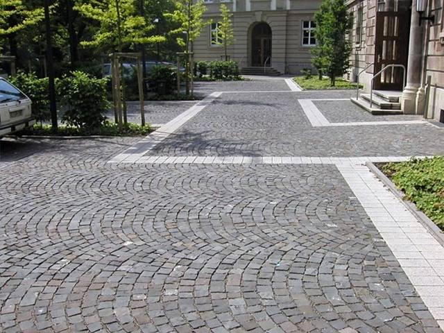 Super Einfahrt pflastern - für Haus und Hof, Firmengelände und Parkplätze JU13