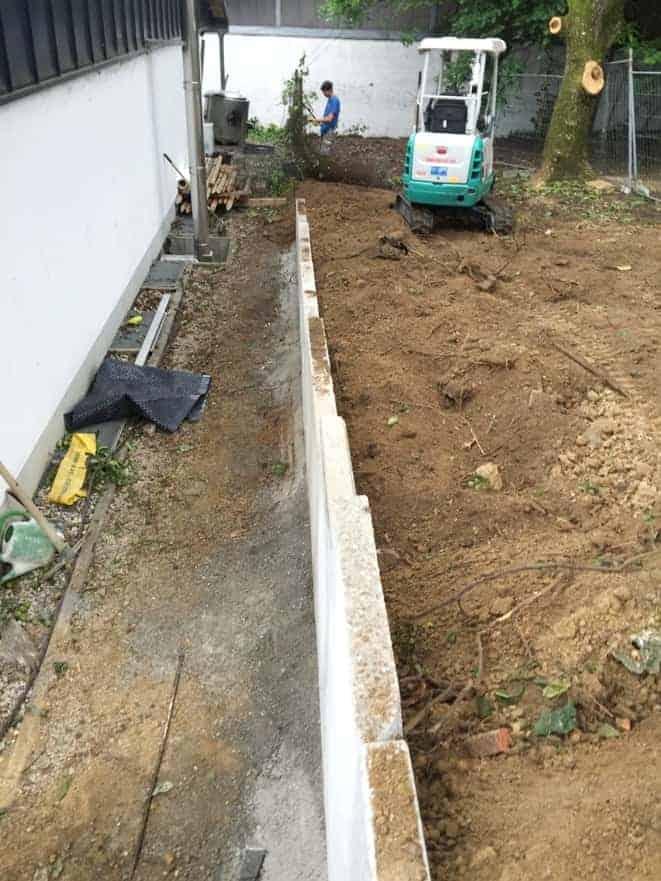 Entwässerung bei Landshut