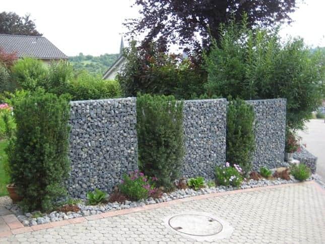 Garten und Landschaftsbau Gabionen