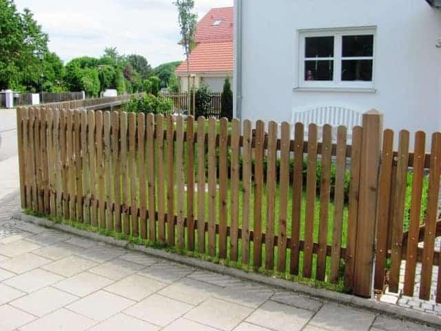 Garten und Landschaftsbau Holzzaun