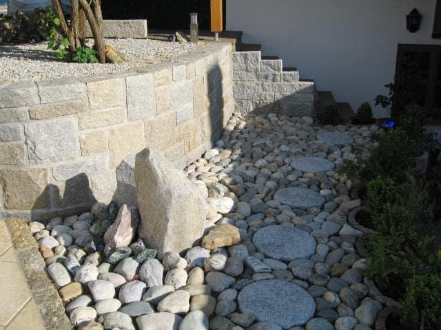 Garten und Landschaftsbau Natursteinmauer