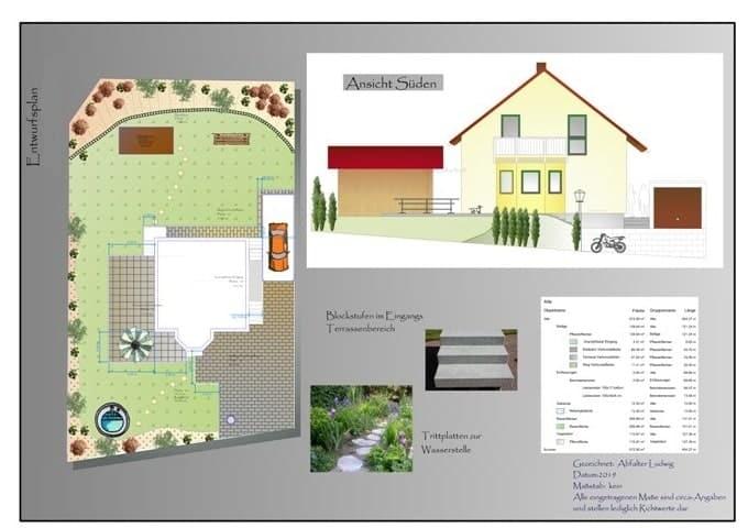 Gartenplanung Abfalter bei Landshut