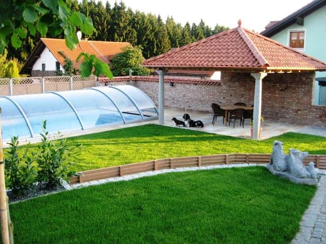 Extrem Pool Garten bei Landshut - Wir bauen Ihren Pool im Garten WF91