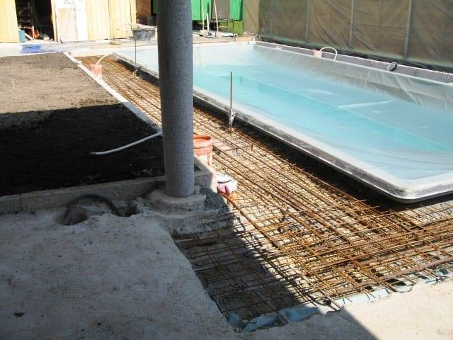 Pool-Garten bei Landshut vorher